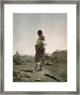 Blanes, Juan Manuel 1830-1901. The Framed Print by Everett