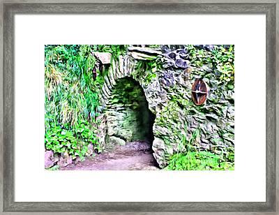 Blarney Cave Framed Print