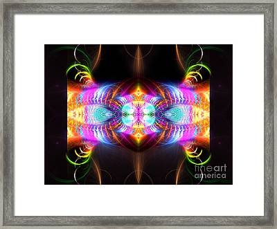 Blast Of Colors Framed Print