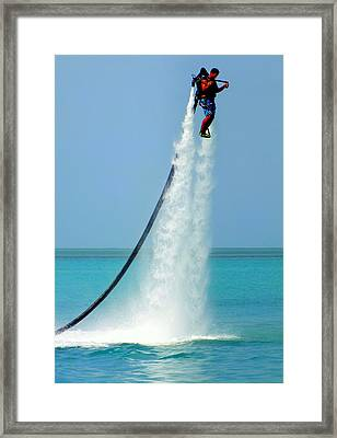 Blast Off Framed Print by Karen Wiles