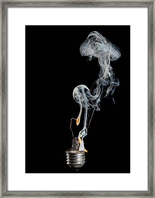 Blaze Of Glory Framed Print