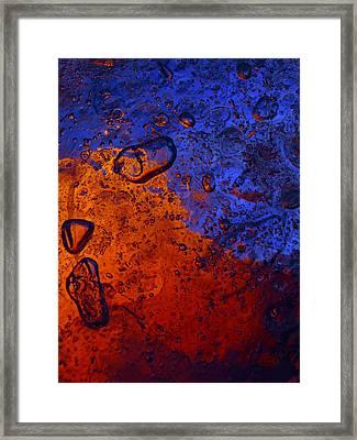 Blaze Framed Print