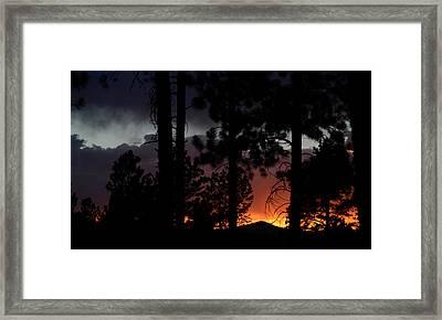 Blazing Black Hills Sunset Framed Print by Dakota Light Photography By Dakota