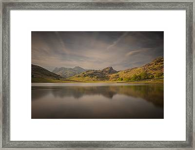 Blea Tarn Lake District Framed Print
