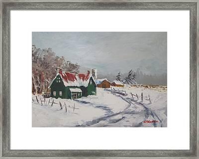 Bleak Winter Framed Print by Heidi Patricio-Nadon