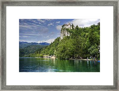 Bled Castle Framed Print