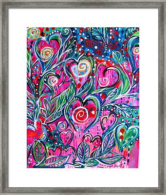 Bleed For Me Framed Print by Ifeanyi C Oshun