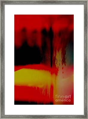 Framed Print featuring the photograph Bleed by Paul Foutz