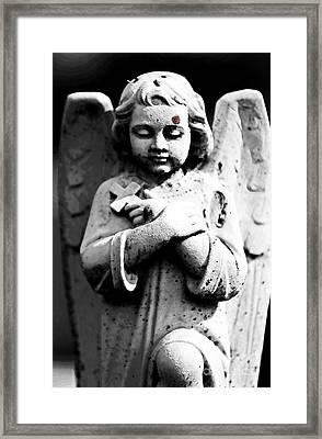 Bleeding Angel Framed Print