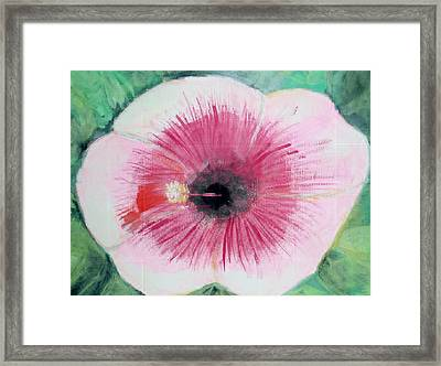Bleeding Flower Framed Print