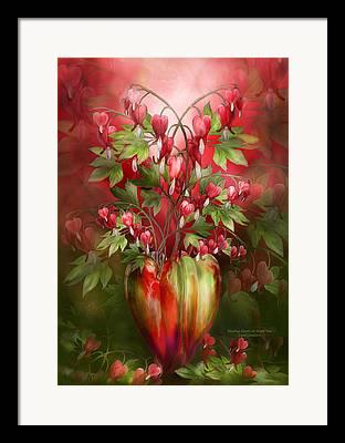Bleeding Heart Framed Prints