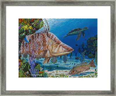 Blend In Re0015 Framed Print
