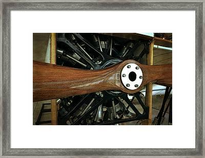 Bleriot Xl Racer Prop Framed Print by Michelle Calkins