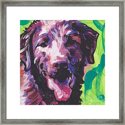 Bless The Chessie Framed Print by Lea S