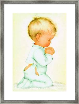 Bless Us All Framed Print by Charlotte Byj