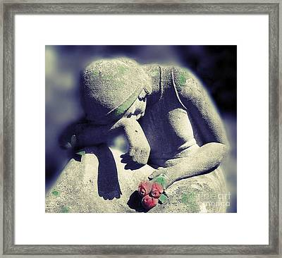 Blessed Are Those That Mourn Framed Print