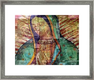 Blessed Lady Framed Print by Patricia Januszkiewicz