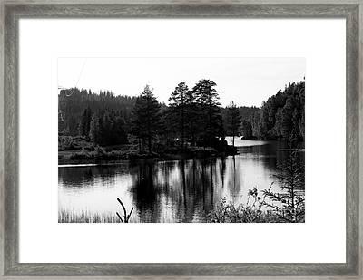 Blessed Landscape Framed Print