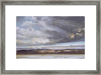 Blessed Light Framed Print by Grace Keown