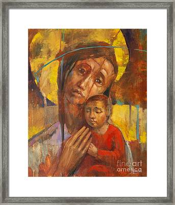 Blessed Ones Framed Print by Michal Kwarciak