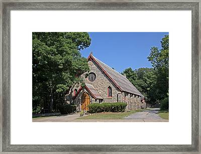 Blessed Sacrament Chapel Framed Print