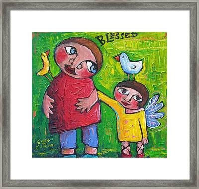 Blessed Framed Print