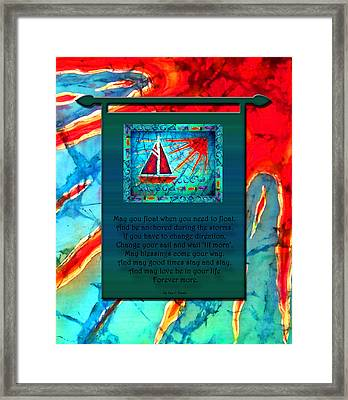 Blessings 1 Framed Print by Sue Duda