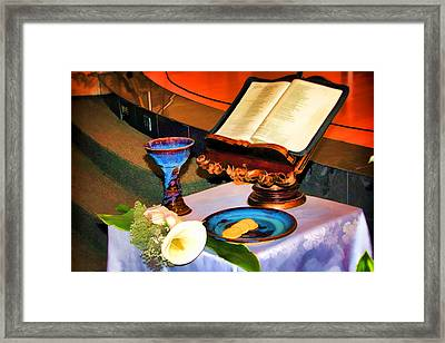 Framed Print featuring the photograph Blessings-benediciones by Eleanor Abramson