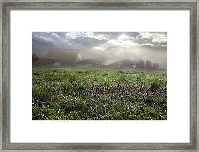 Blessings For The Farm Framed Print