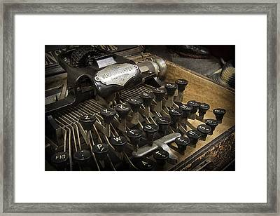 Blickensderfer No. 5 Framed Print by Daniel Hagerman