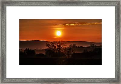 Bliesgau Framed Print