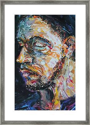 Blind Beggar Framed Print by Carl Geenen