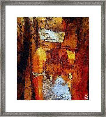 Blind Date Framed Print