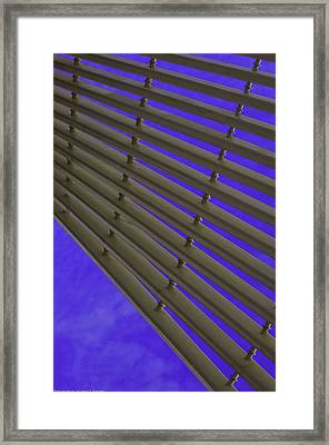 Blind On The Sky Framed Print