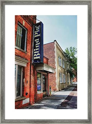 Blind Pig Framed Print