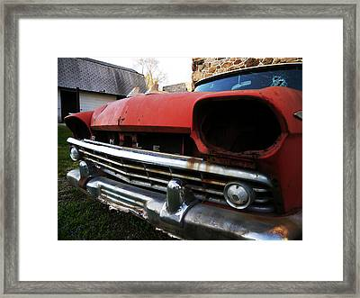 Blind Rambler Framed Print by Richard Reeve