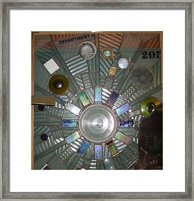 Blinded By Science Framed Print by Henry Matthaei
