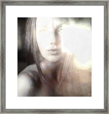 Blinded By The Light Framed Print by Gun Legler