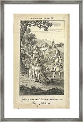 Blindfold Framed Print by British Library