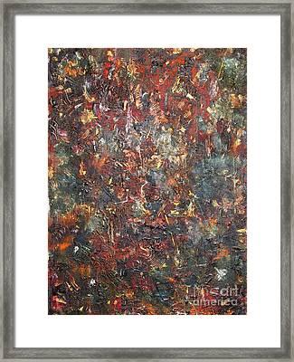 Blindness Framed Print by Chaline Ouellet