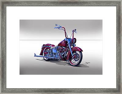 Bling Bling Studio Bike Framed Print