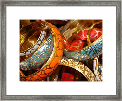 Framed Print featuring the photograph Bling by Ira Shander
