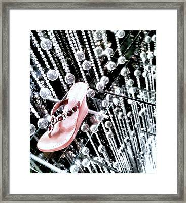 Framed Print featuring the photograph Bling  by Robert McCubbin