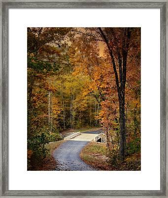 Bliss - Autumn Landscape Framed Print by Jai Johnson