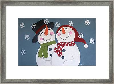 Bliss Framed Print by Cindy Micklos