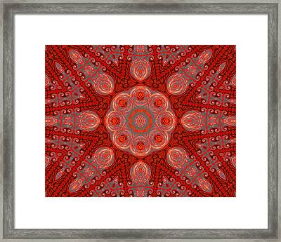 Bliss In The Formal Gardens Framed Print by Wendy J St Christopher