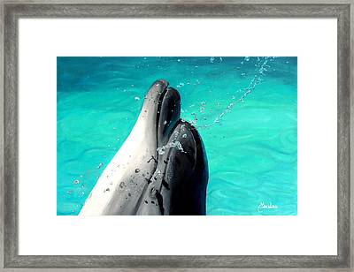 Bliss Framed Print by Maritza Tynes
