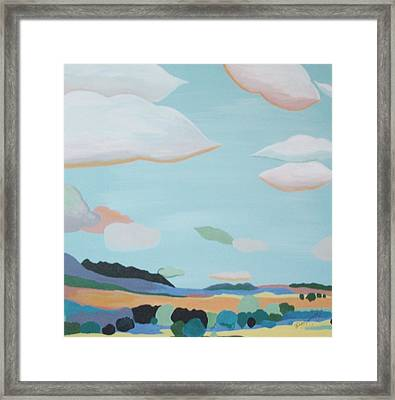 Bliss Framed Print by Patricia Brewer-Cummings