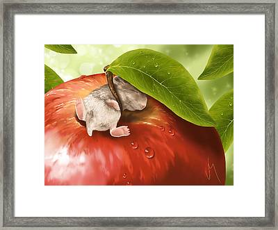 Bliss Framed Print by Veronica Minozzi