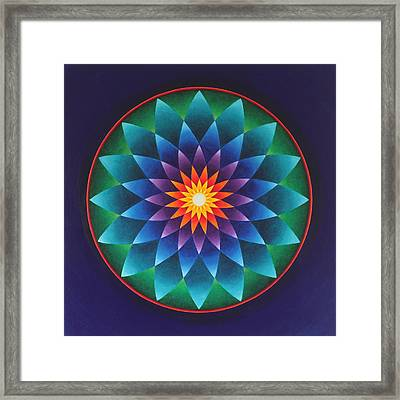 Blissful Awakening Framed Print